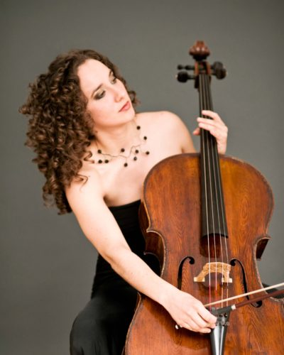 Chloé Dominguez  <br> CELLIST